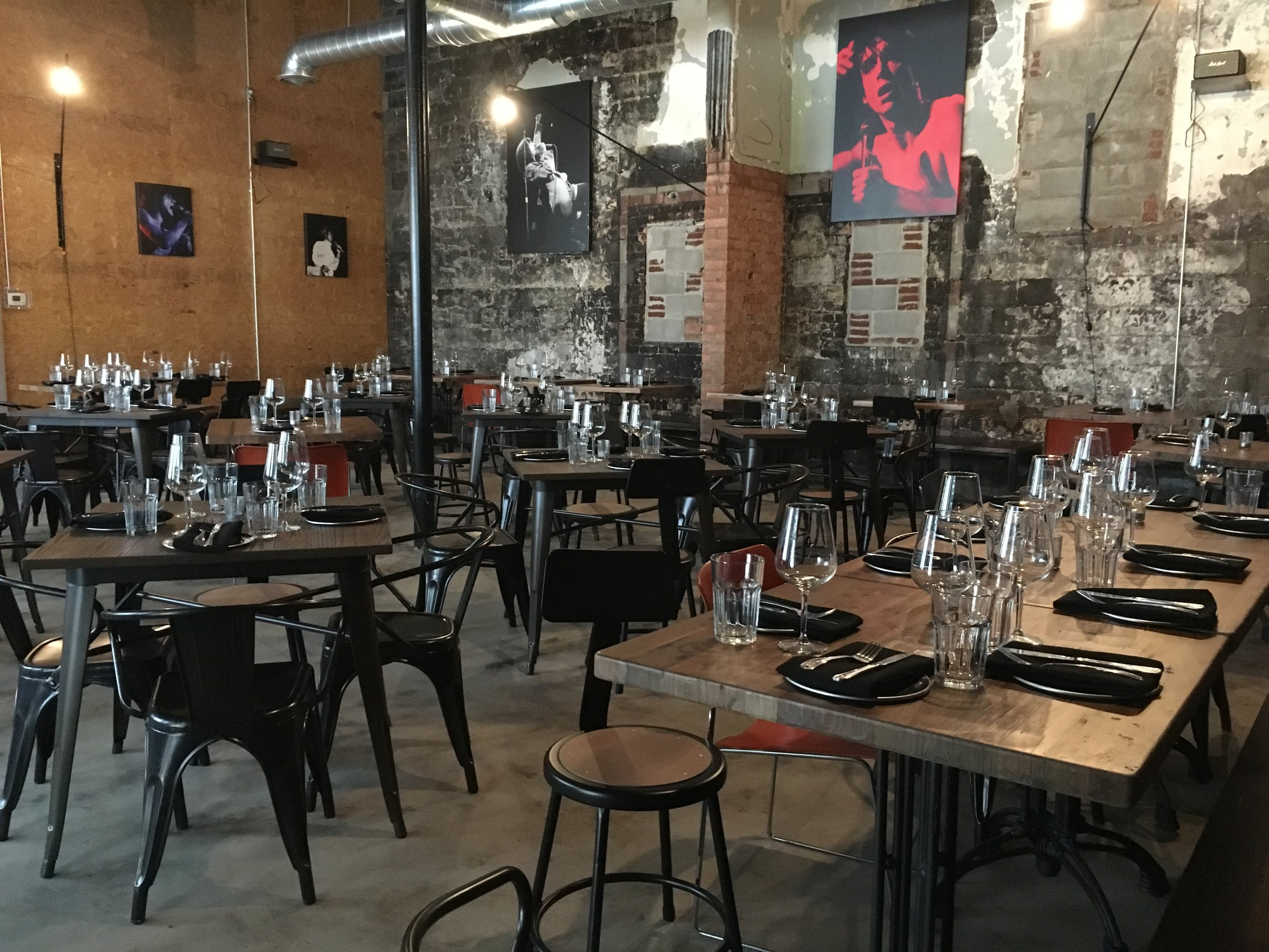 Rock City Eatery before the doors opened in Midtown Detroit