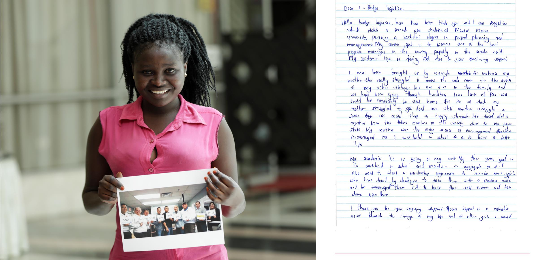 #1bridge   #logistics   #payitforward   #givingback    #onegirlcan #sponsor #support #mentoring