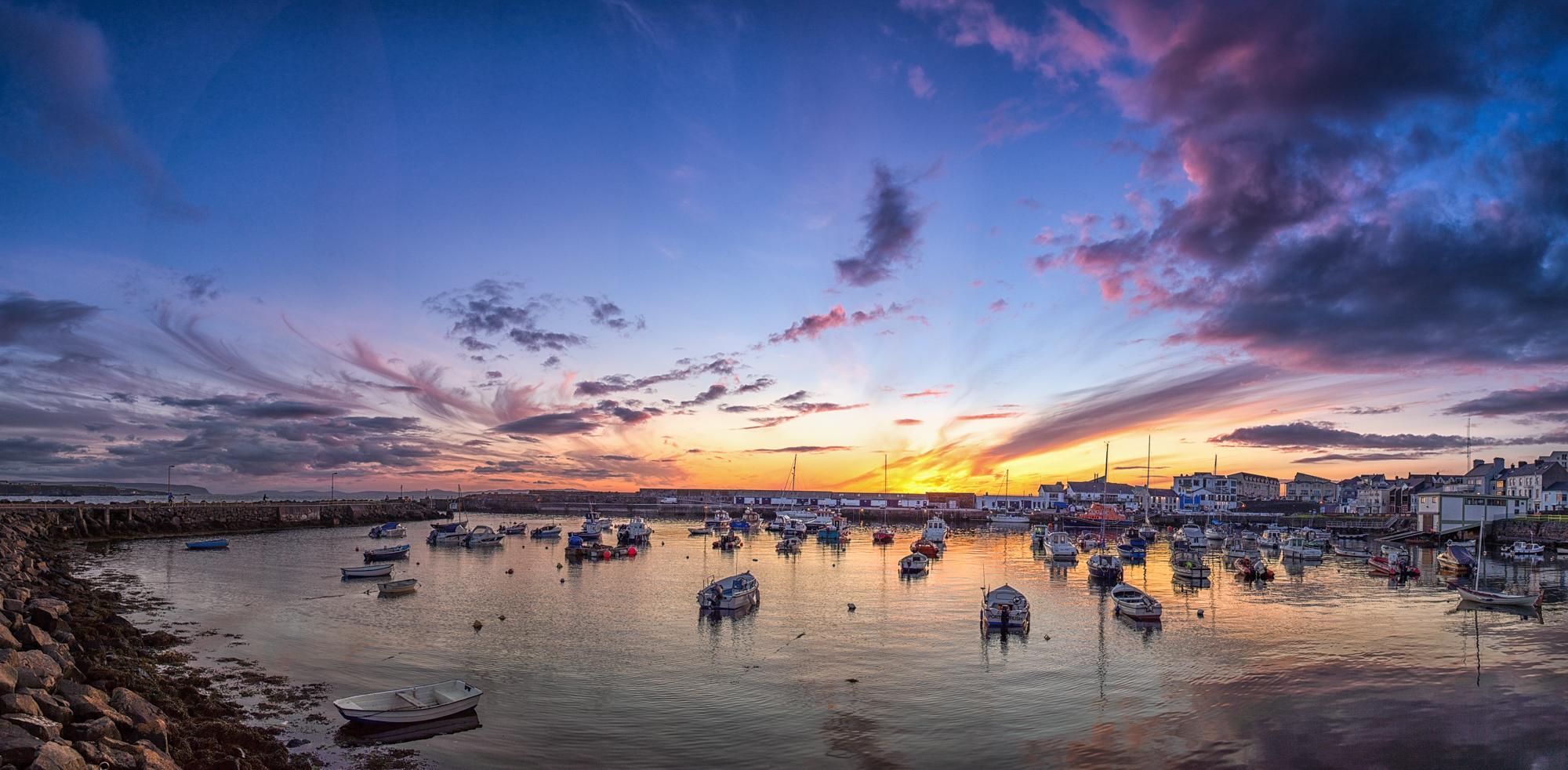 20120715-portrush harbour sunset.jpg