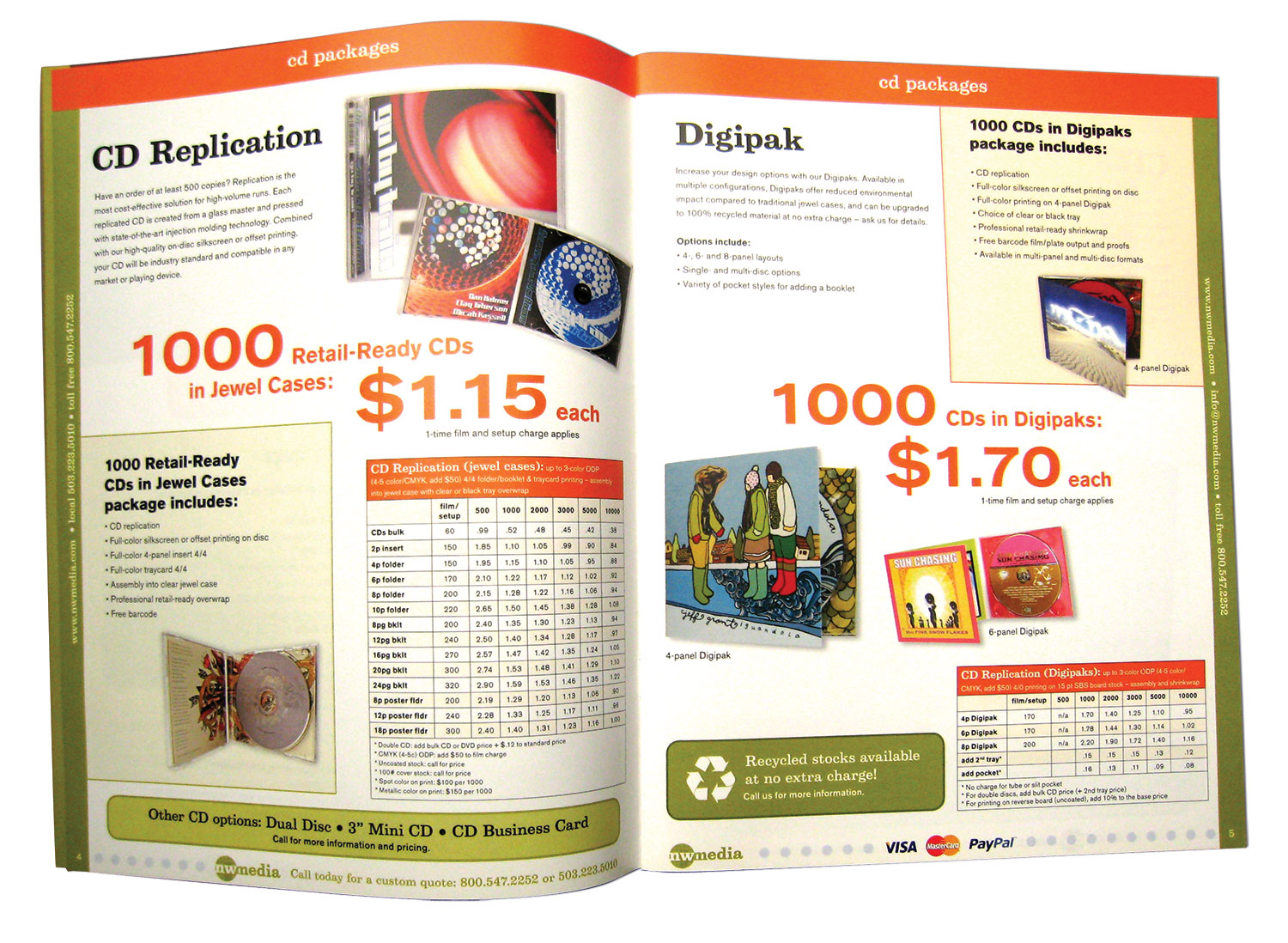 Art Direction, Project Management, Catalog Layout and Production