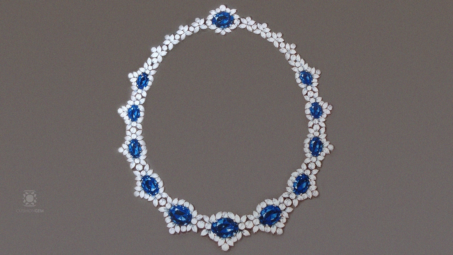 See the video on an important necklace built by Reginald C. Miller himself. - Narration: Benjamin Zucker, Author, Gem Trader