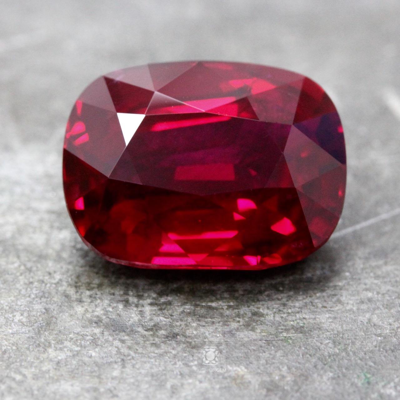 >8 carat un-heated ruby