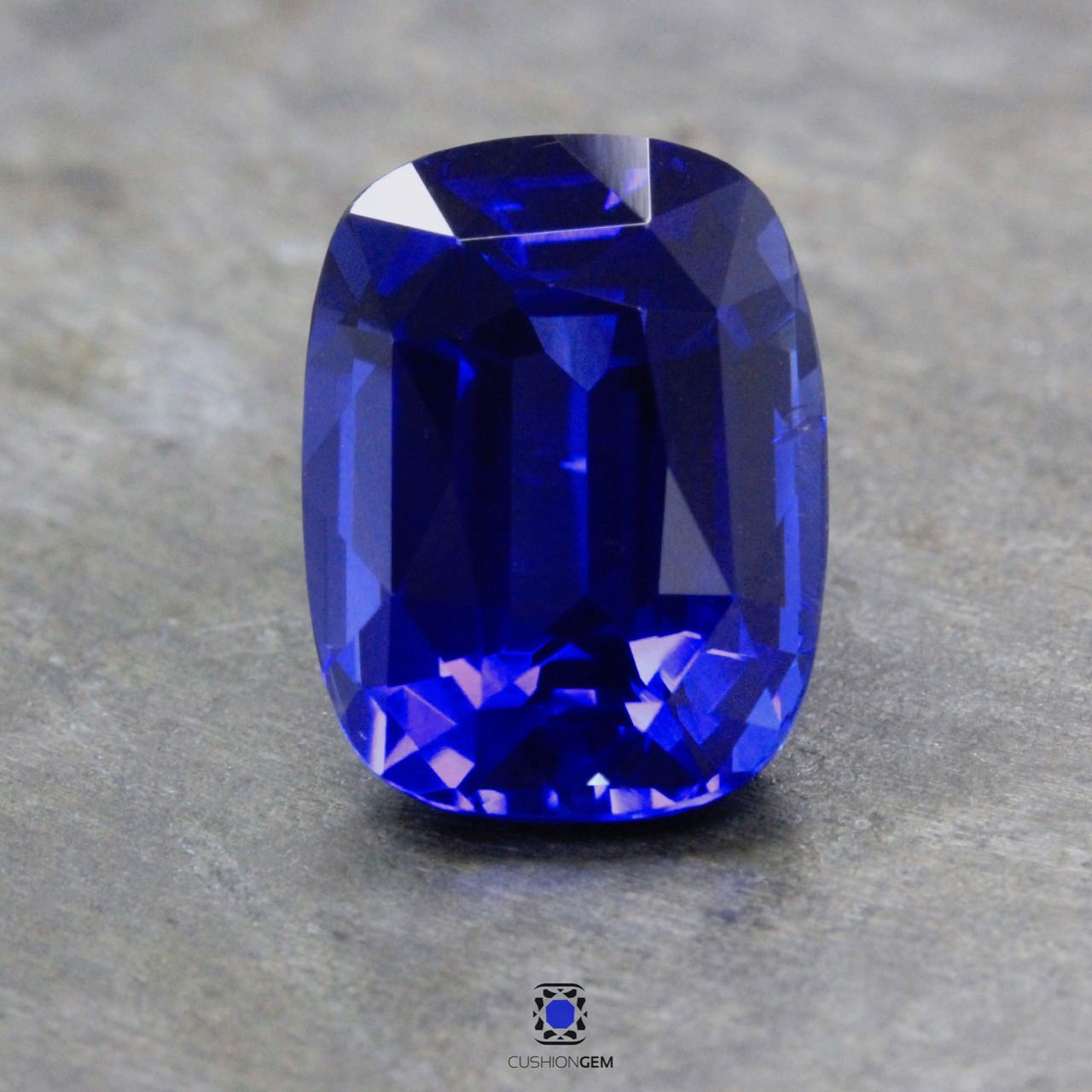 6.05 Cushion Un-heated Sapphire