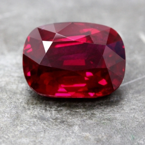 "In the annexed report to its AGL certificate, Christopher Smith determined the color and quality of this nearly 9 carat ruby to be ""representative of the finest material that has ever been recovered from Mozambique."""