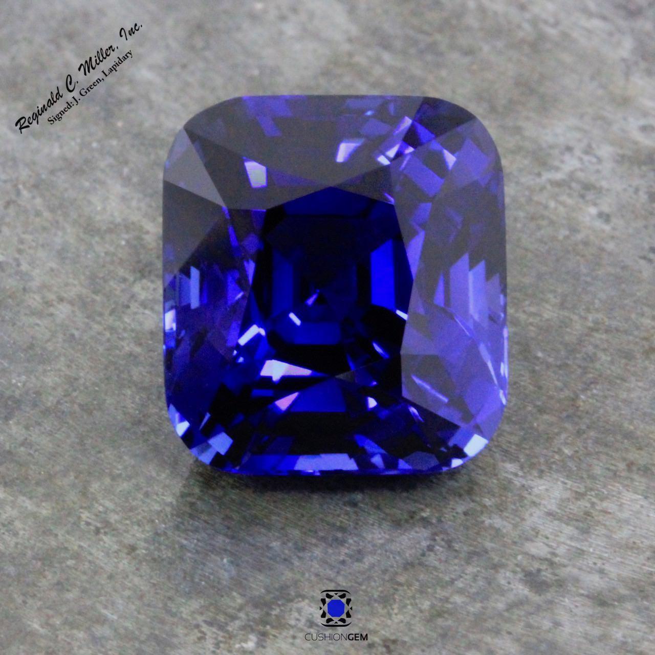 11.84 Cushion Un-heated Sapphire