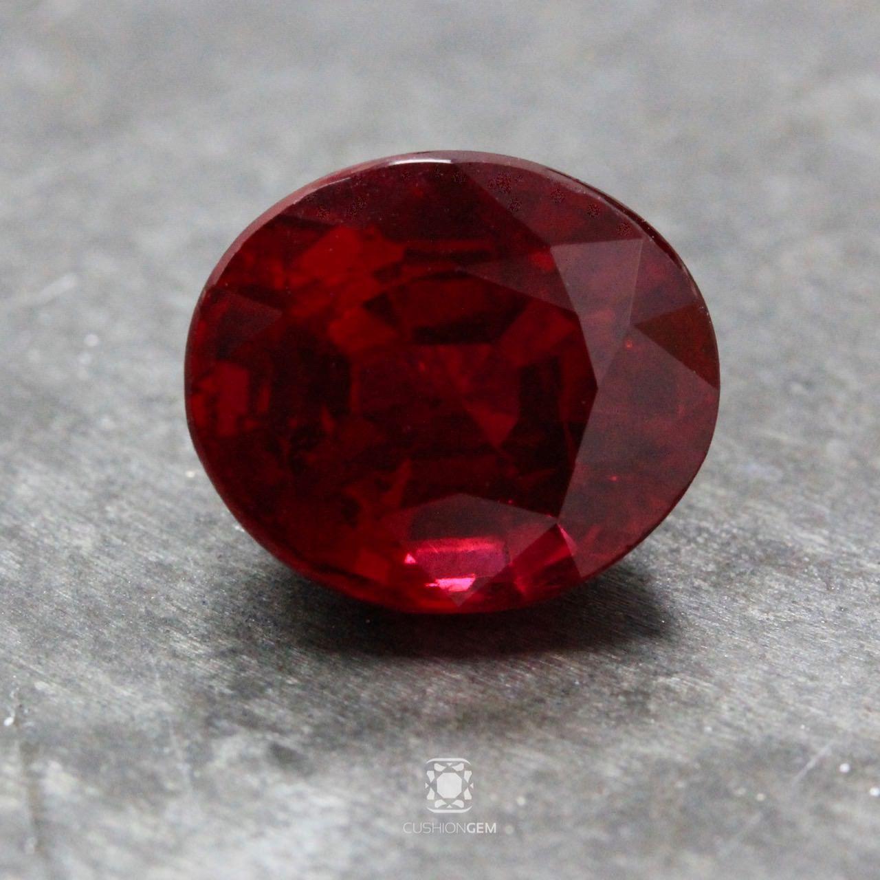 6.02 Oval Burma Ruby