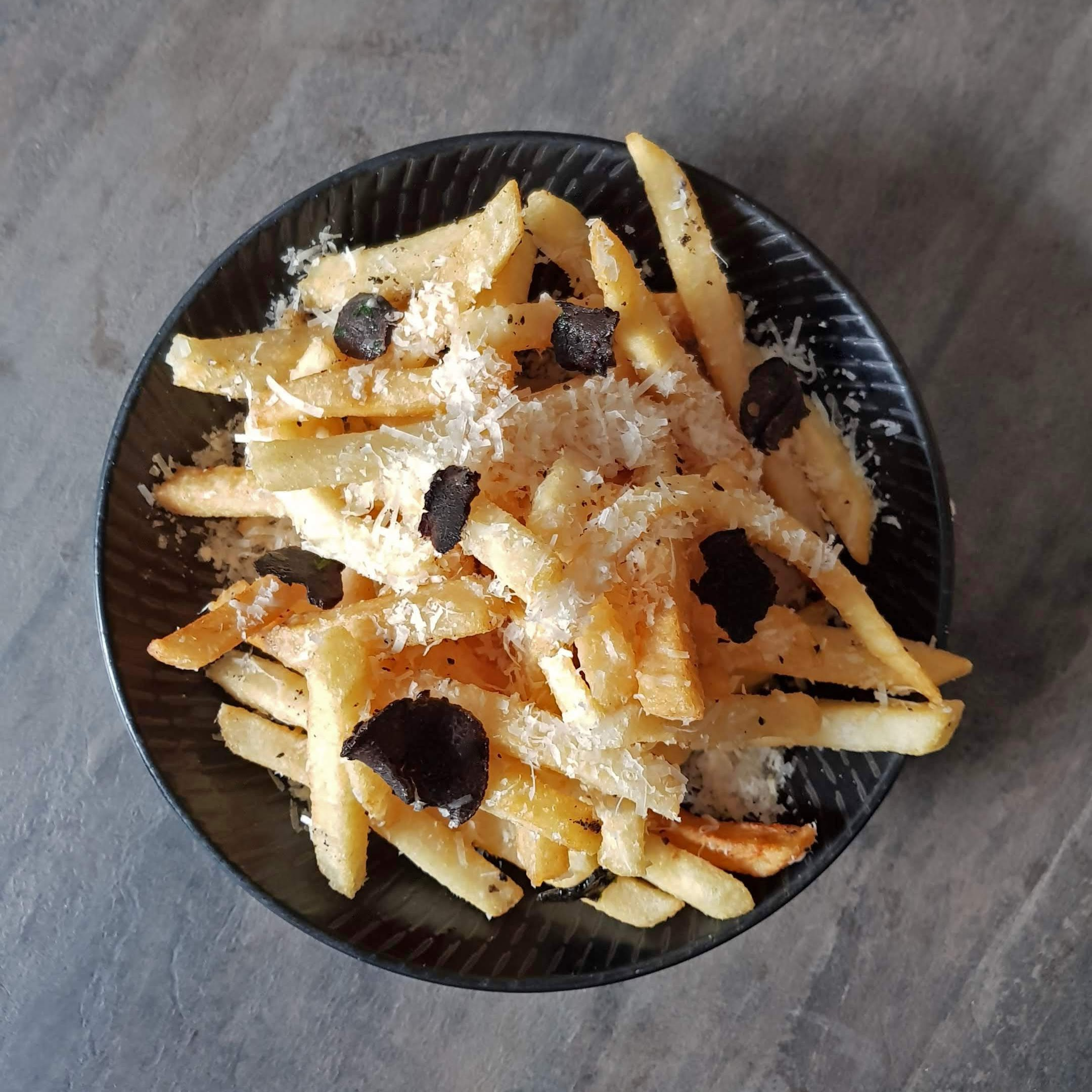 FREE TRUFFLE FRIES - Many say we have some of the best Truffle Fries in Singapore