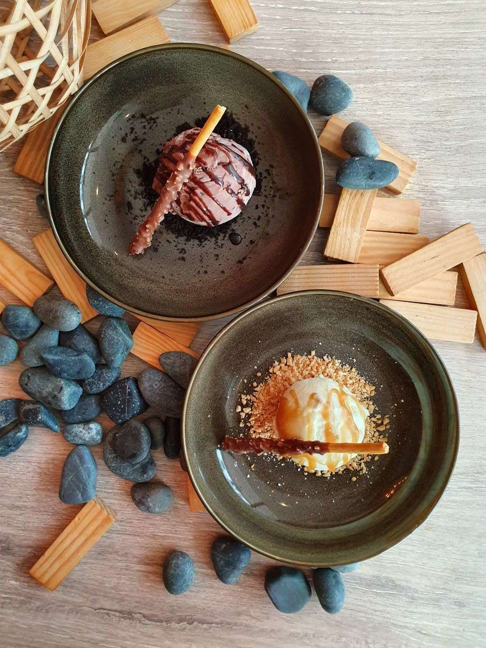 FREE GELATO DESSERT - We want you to enjoy your meal so dessert's on us this time!