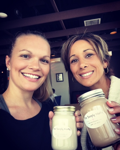 Jennifer of Lean and Green Body with Gabrille of I'm Simply Nutty