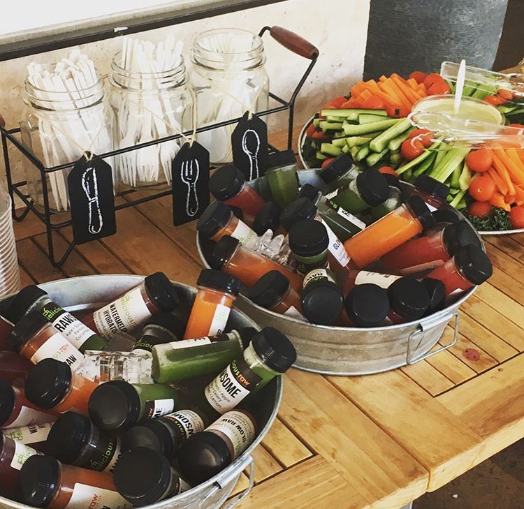 Recap: Nutrition and Yoga Event with Delicious Raw | Lean and Green Body Blog