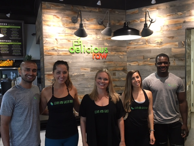 Recap: Nutrition and Yoga Event with Delicious Raw