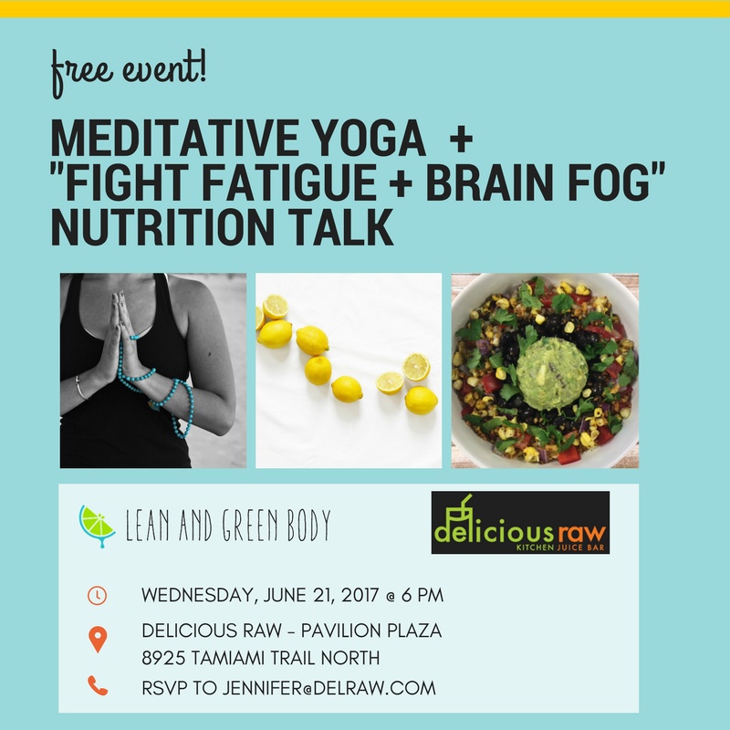 Fight Fatigue and Brain Fog | Lean and Green Body