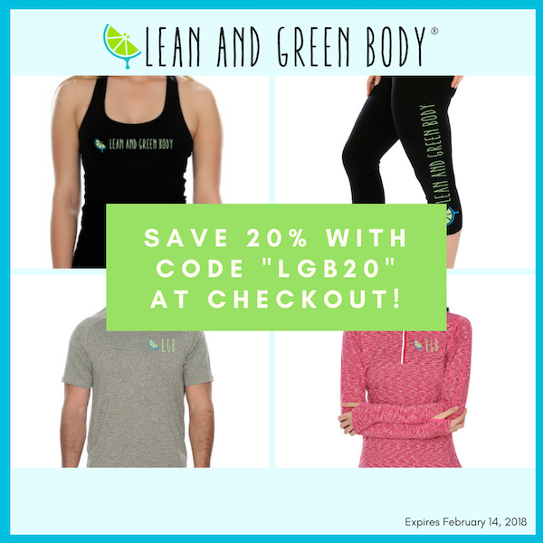 Lean and Green Body Gear Sale