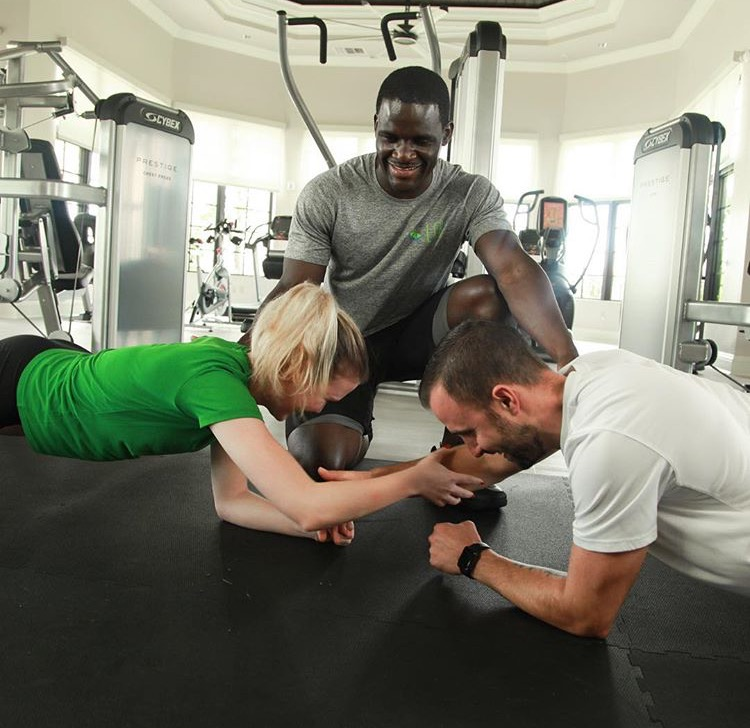 Partner Core Workout | Lean and Green Body® Blog