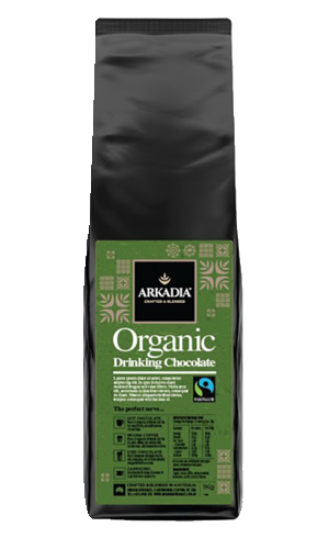 Arkadia Organic Fairtrade Drinking Chocolate 1Kg