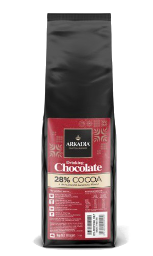 Arkadia 28% Premium Drinking Chocolate 1Kg