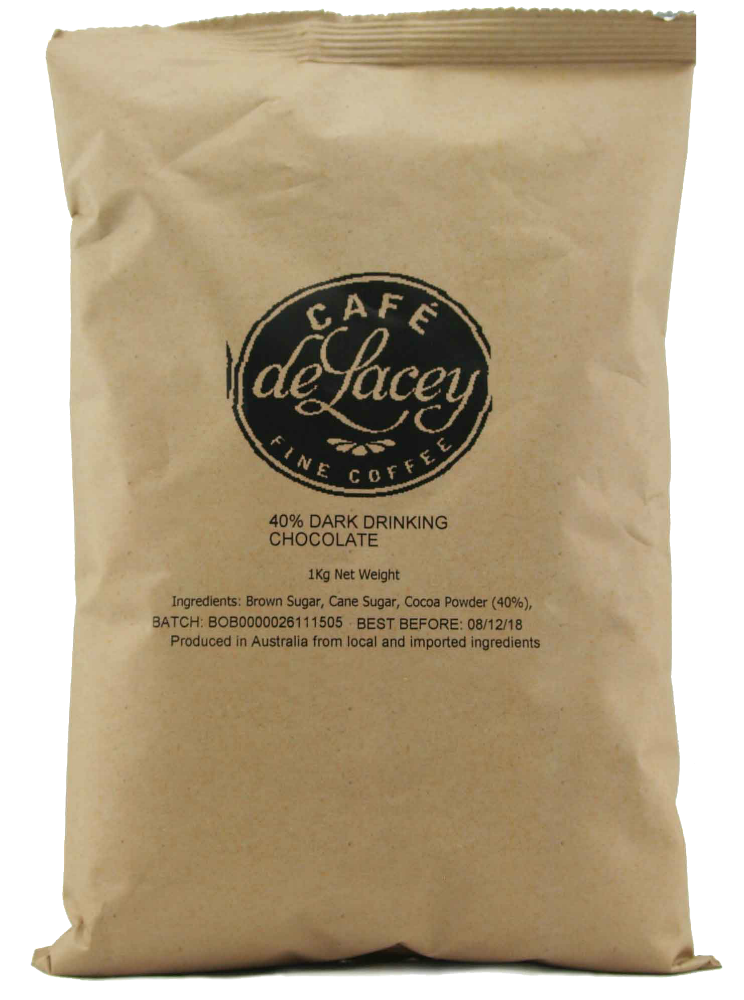Cafe de Lacey 40% Drinking Chocolate 1Kg