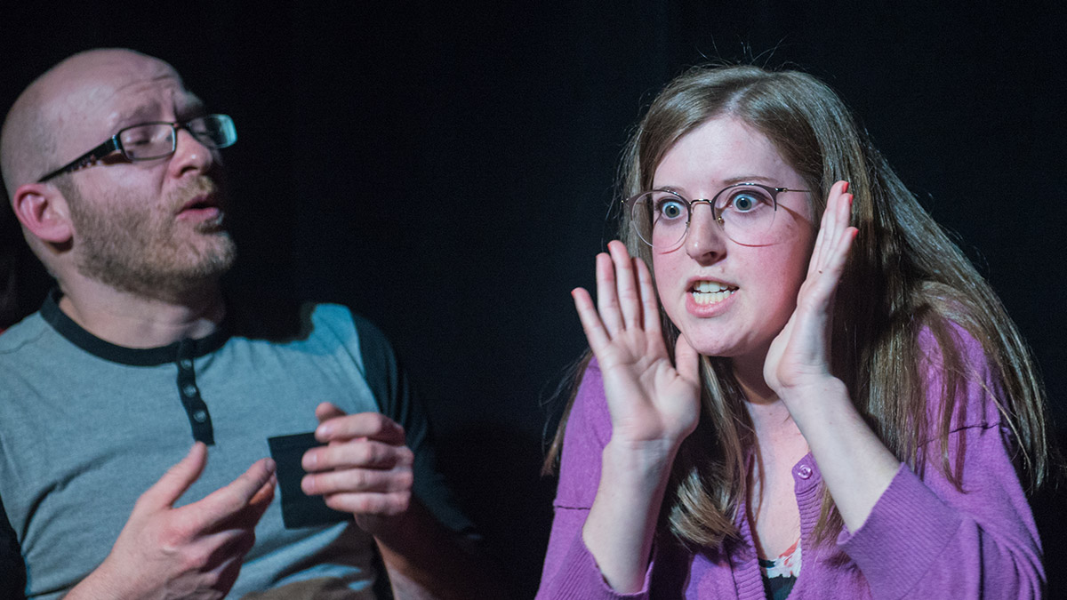 Dr. Kayla Simms - Psychiatrist and Improv student at The Making-Box