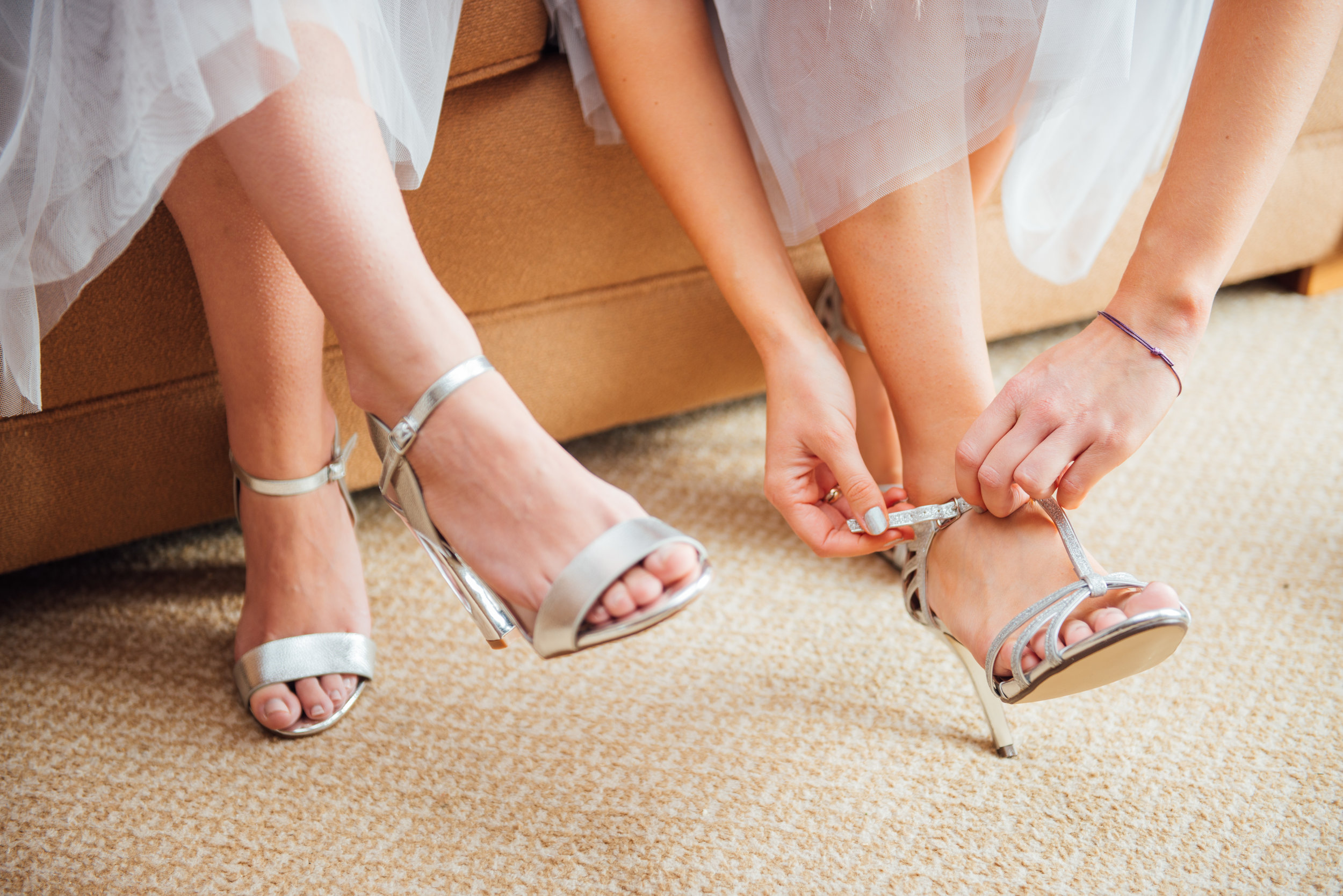 Bridesmaids wedding shoes