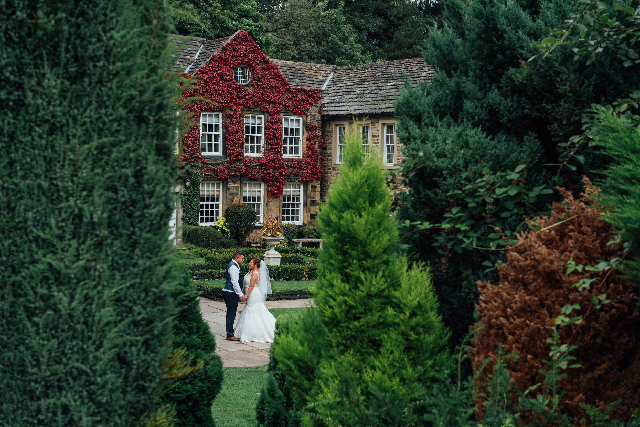 Wedding at Whitley Hall Hotel, Sheffield.