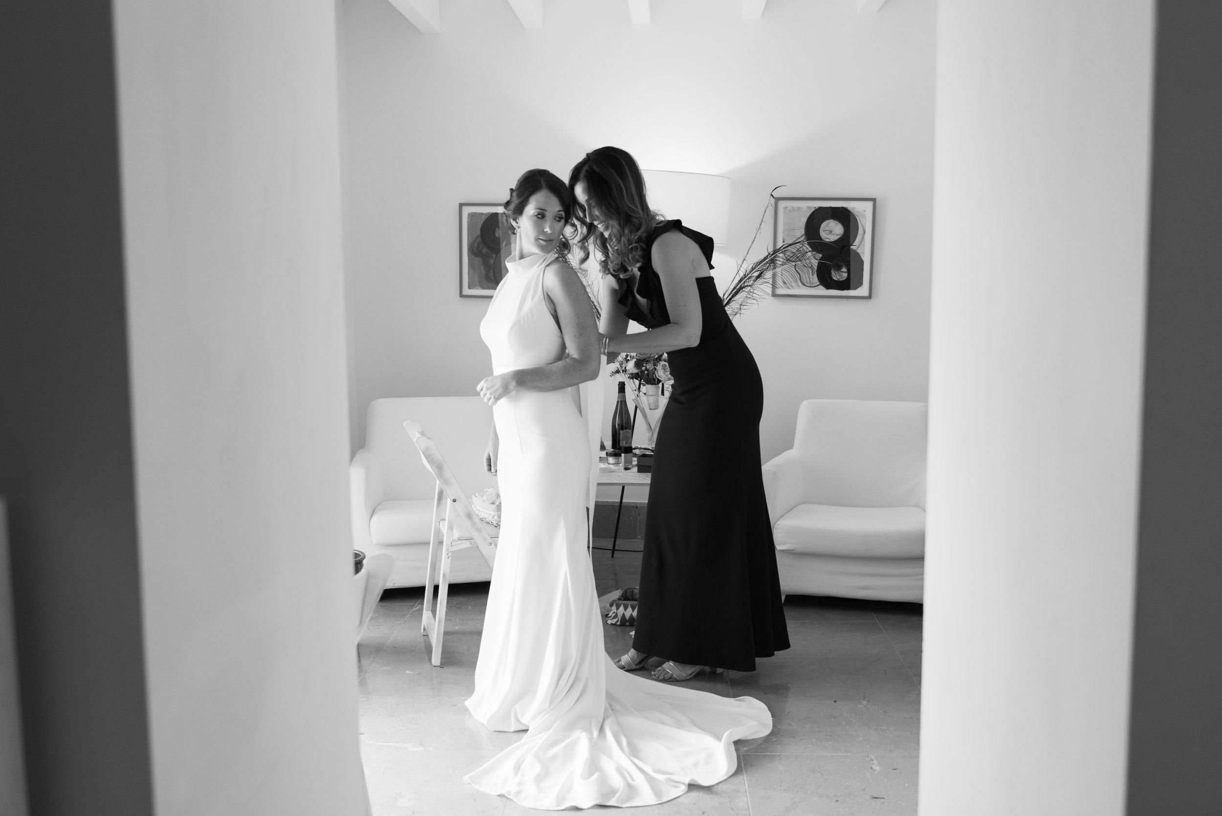 Bridal Prep at Son Simo Vell Mallorca
