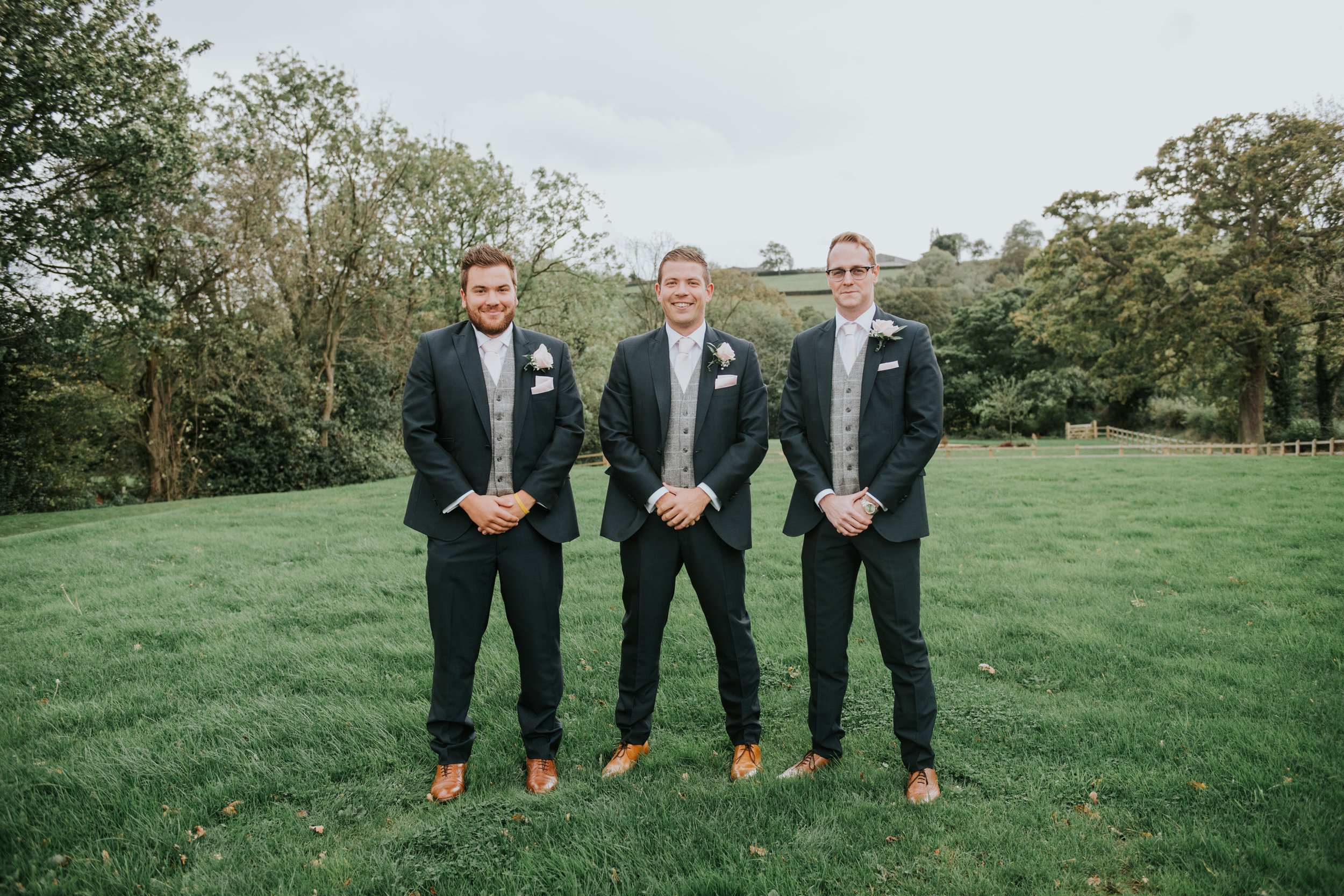Groomsmen at Whitley Hall Hotel Sheffield