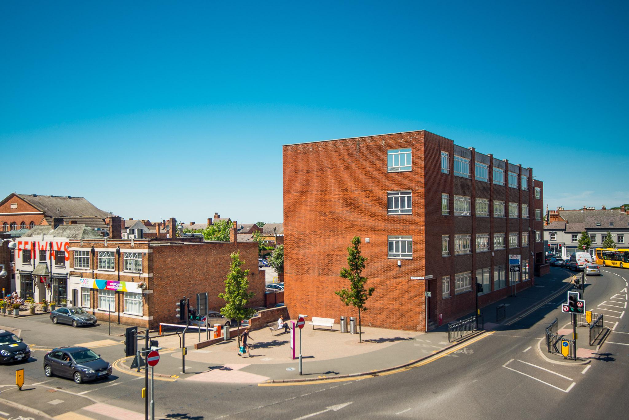 Aerial Mast Photography - Loughborough