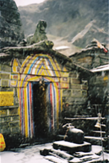 The entrance to the inner-sanctum.