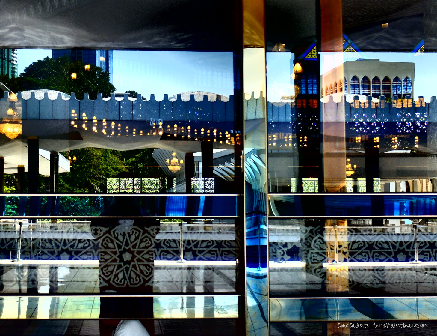 Mosque Reflections, KL