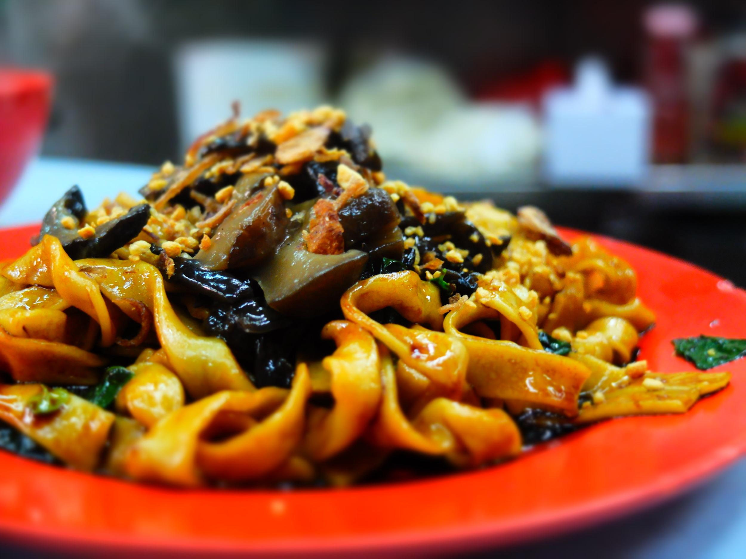 chinese street noodles, Kuala Lumpur