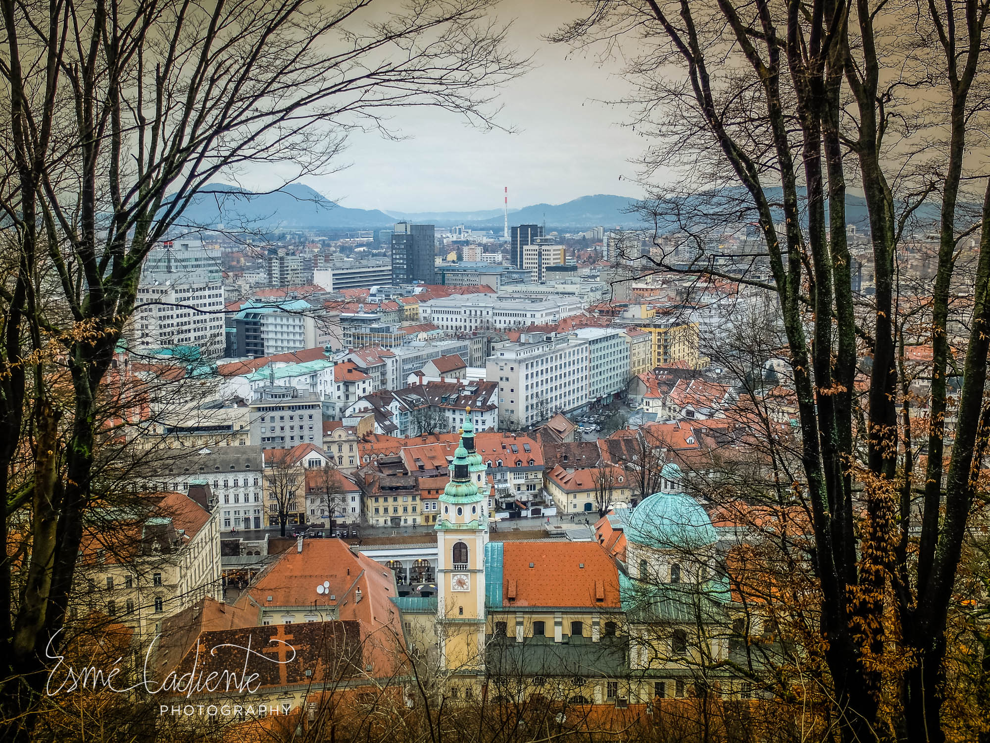 A view of Ljublijana