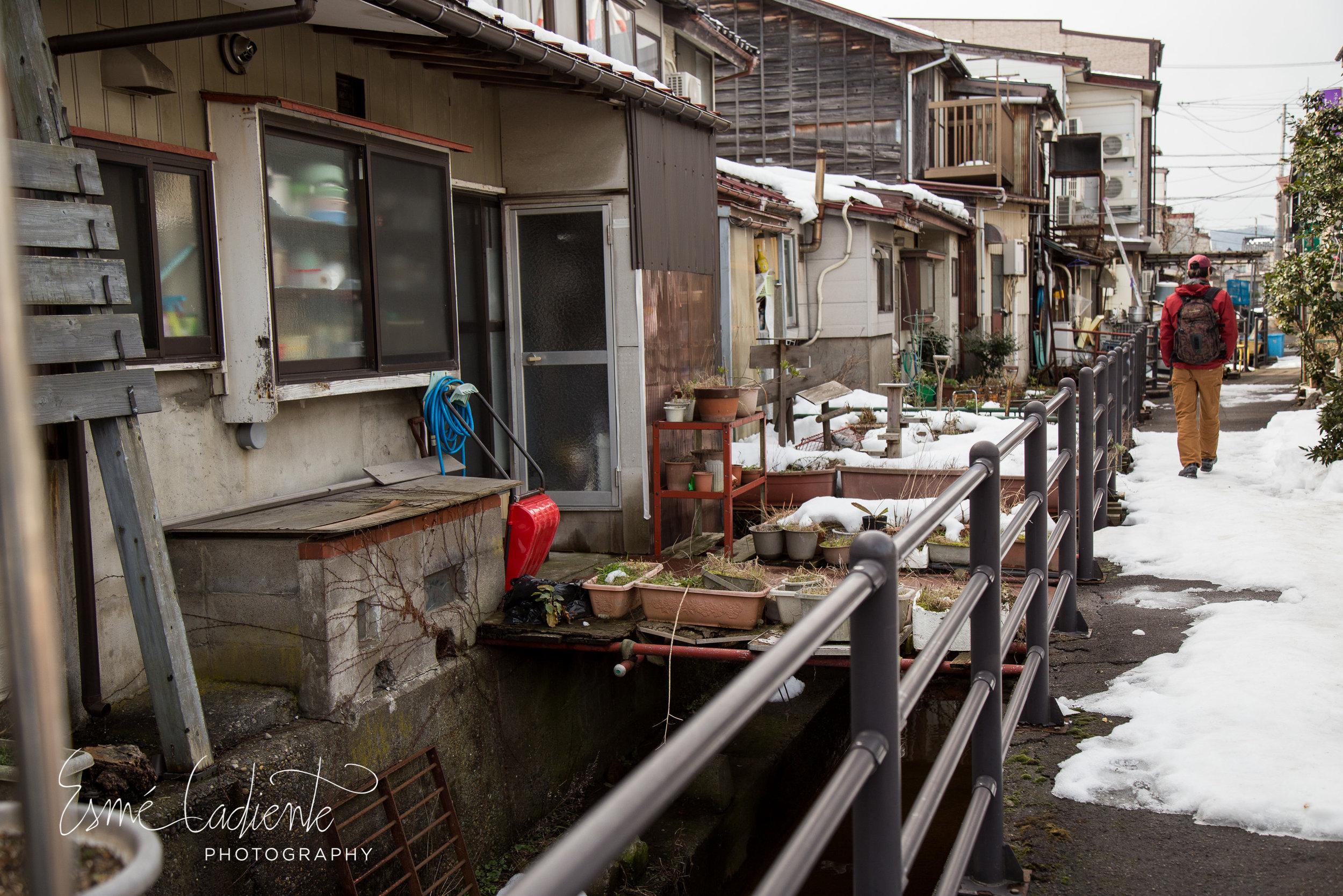 Joetsu streets.