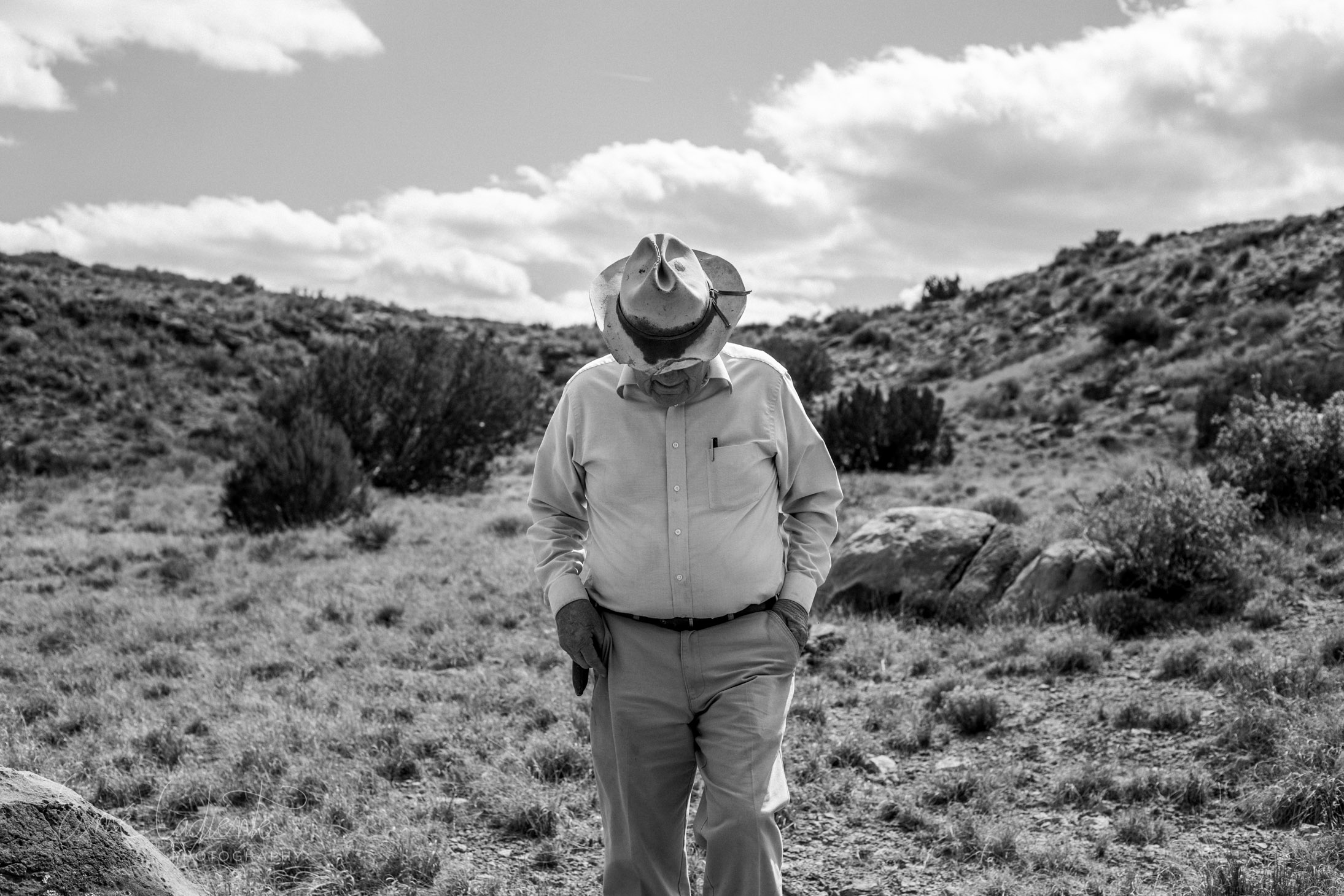 """""""Portrait of my Grandfather""""  This portrait captures my grandfather in his natural element, in a land he has nurtured and loved, and which has rewarded him with a prosperous life's work."""
