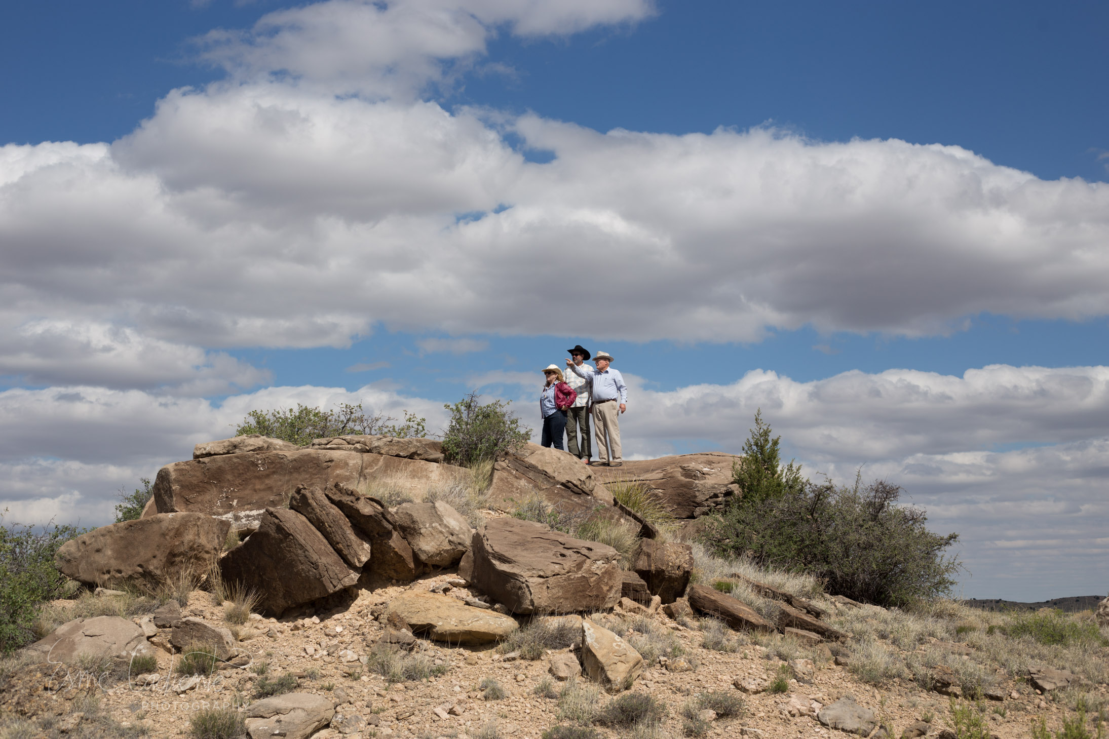 'Rattlesnake Rock'  Rattlesnakes live here, so does the hare and the lizard and the crow. So does the beetle, coyote and the paintbrush and the yucca. So do we.