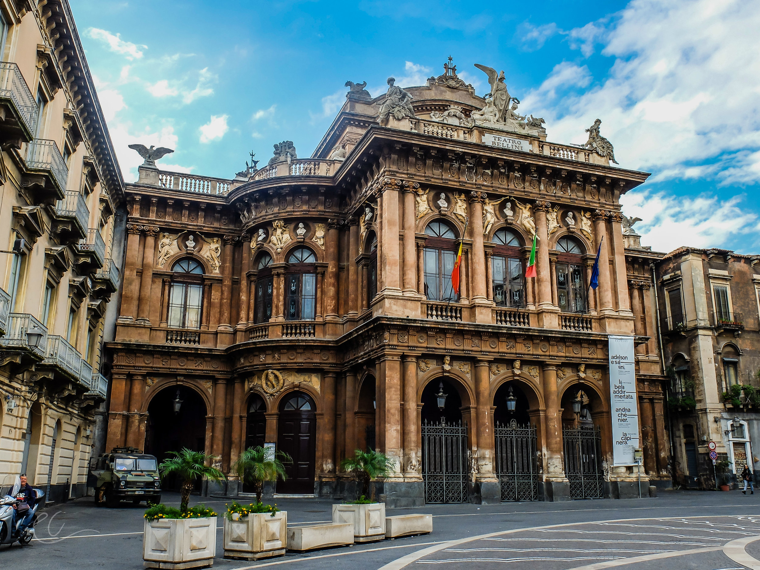 Baroque theatre, Catania.