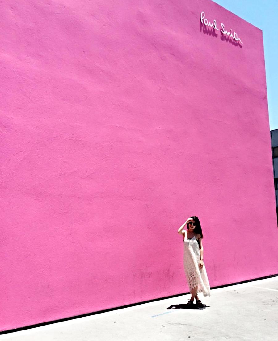 Los Angeles | Paul Smith (photo via @re_nee_2)