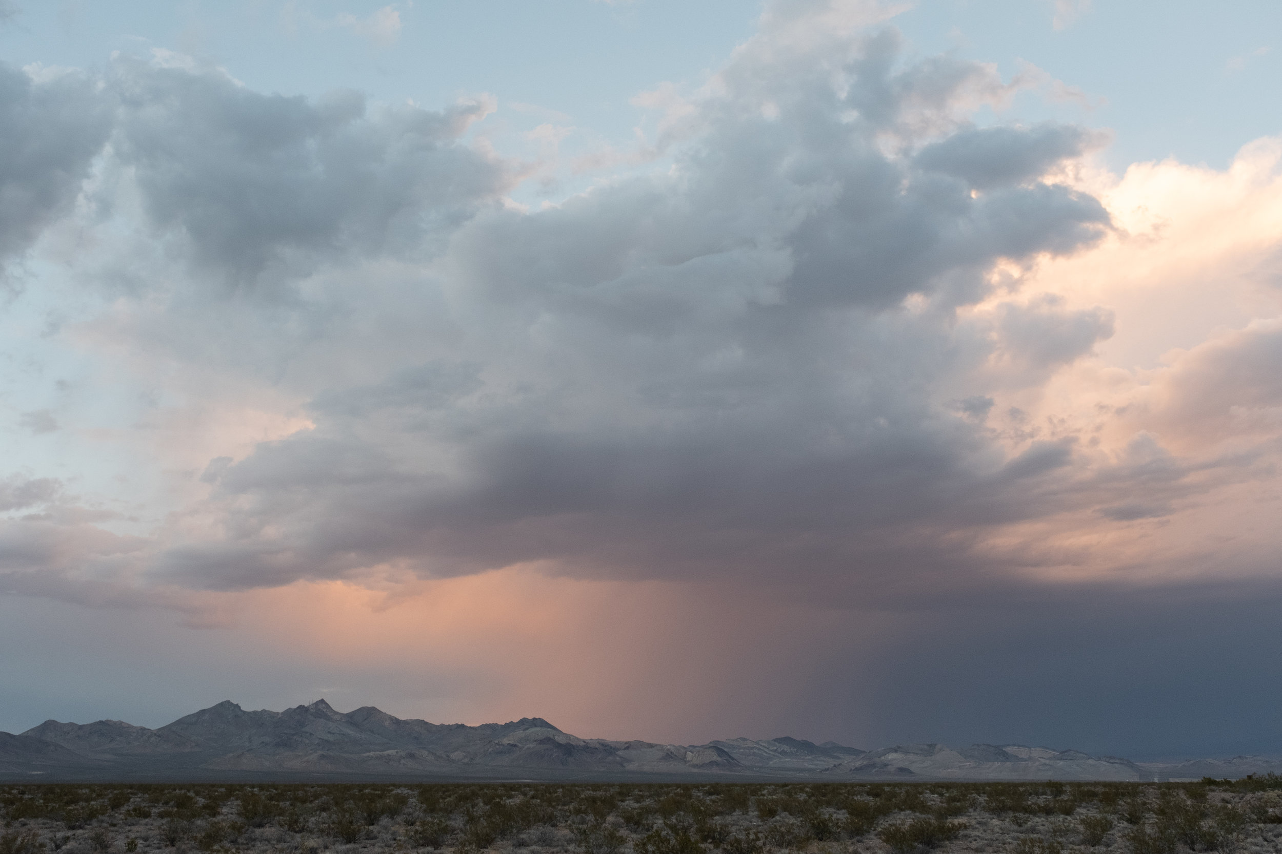 Clearing Storm, Death Valley National Park