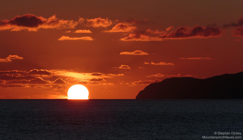 Sunset, Donegal, Ireland