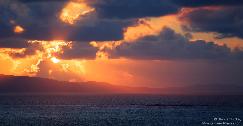 Donegal Sunset, Ireland