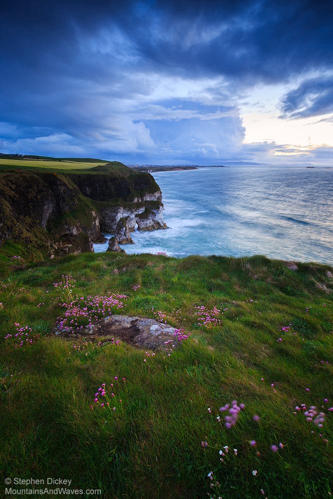 Magheracross Dusk, County Antrim, Northern Ireland