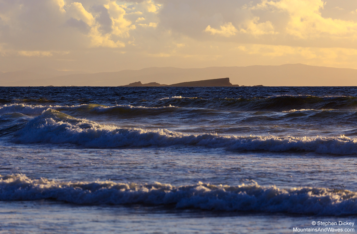 The Skerries from Portballintrae - Northern Ireland Landscape Photography by Stephen Dickey