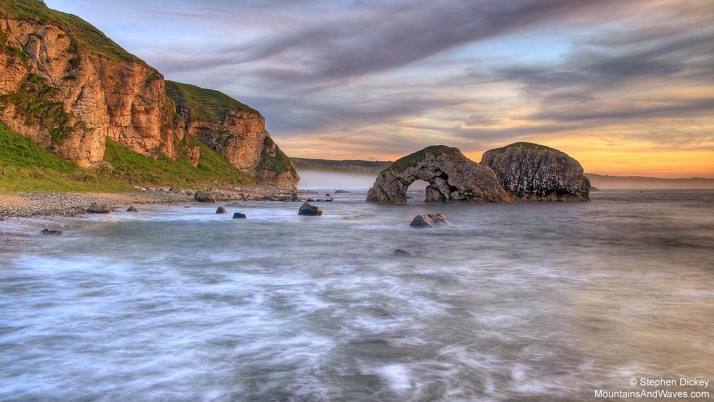 Ballintoy Arch & Cliffs