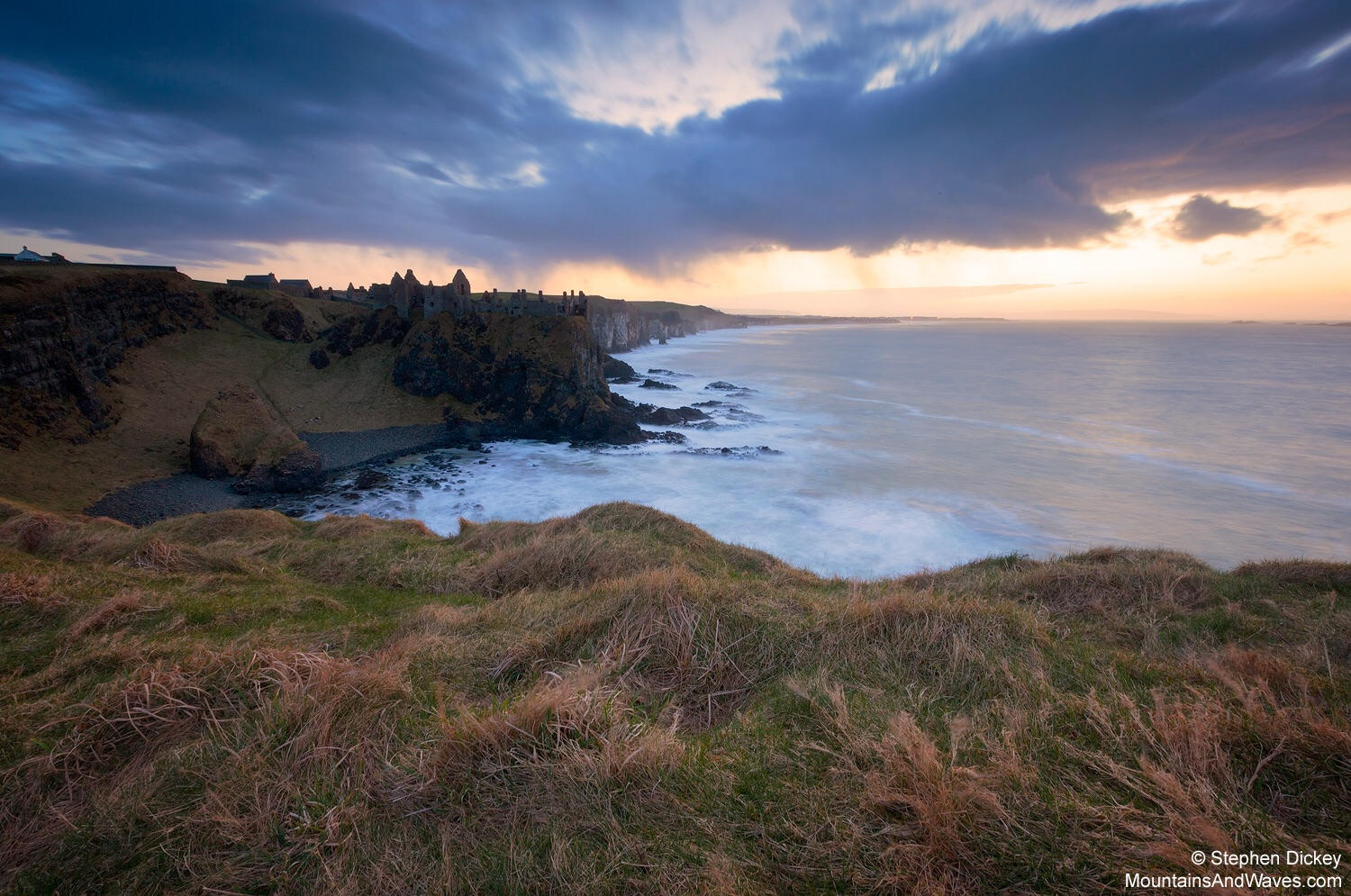 Dunluce Castle, County Antrim - Northern Ireland Landscape Photography by Stephen Dickey