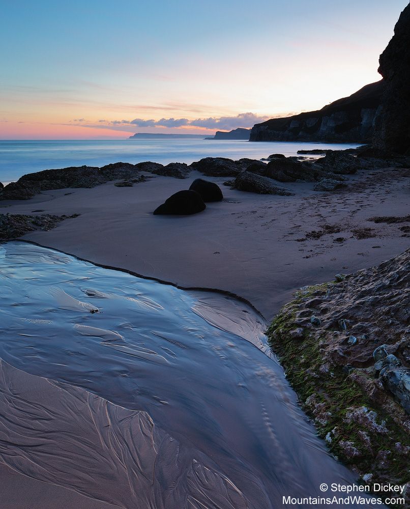 Whiterocks Beach, County Antrim, Northern Ireland