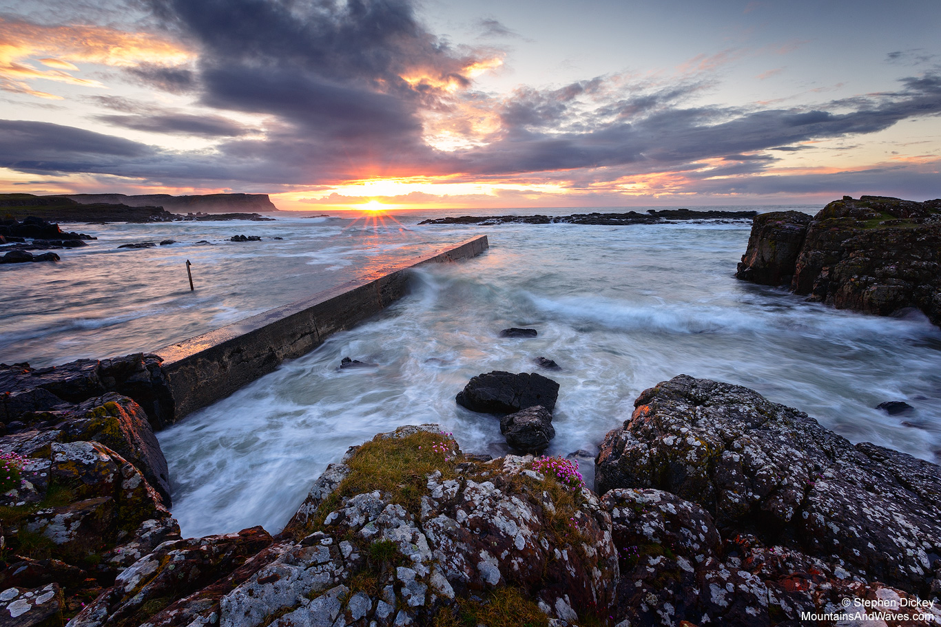 Dunseverick Harbour, County Antrim