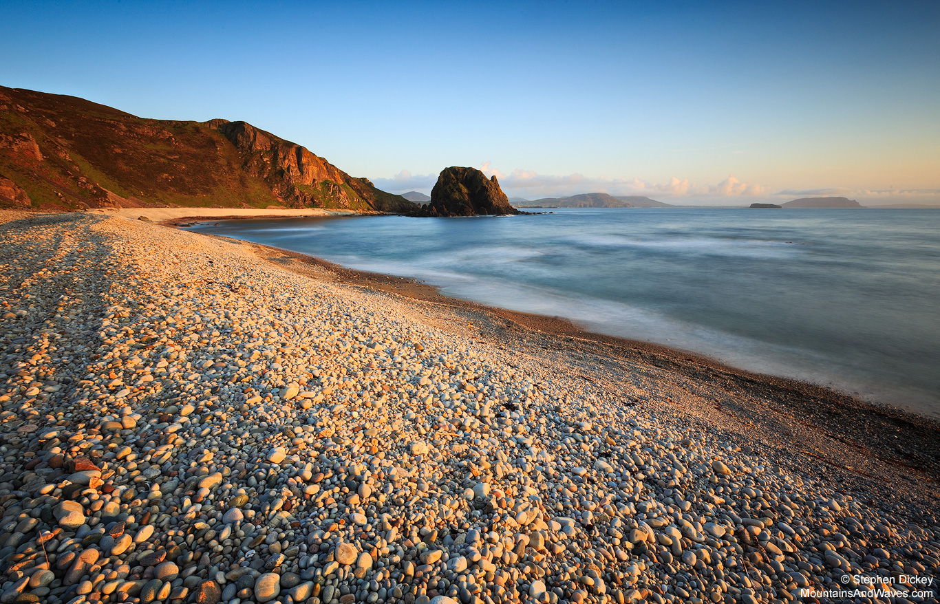 White Strand Bay, County Donegal, Ireland