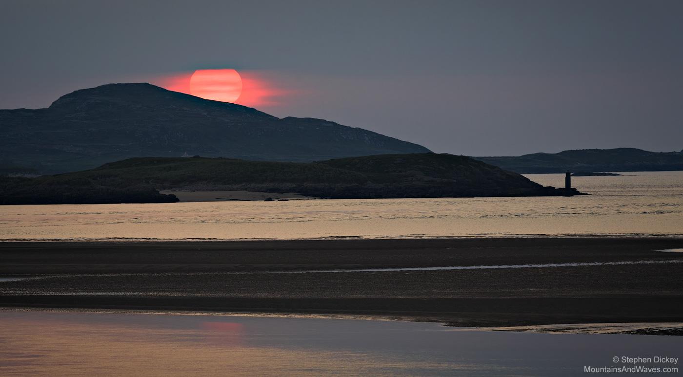 Pink Sunset, Bunbeg, County Donegal, Ireland