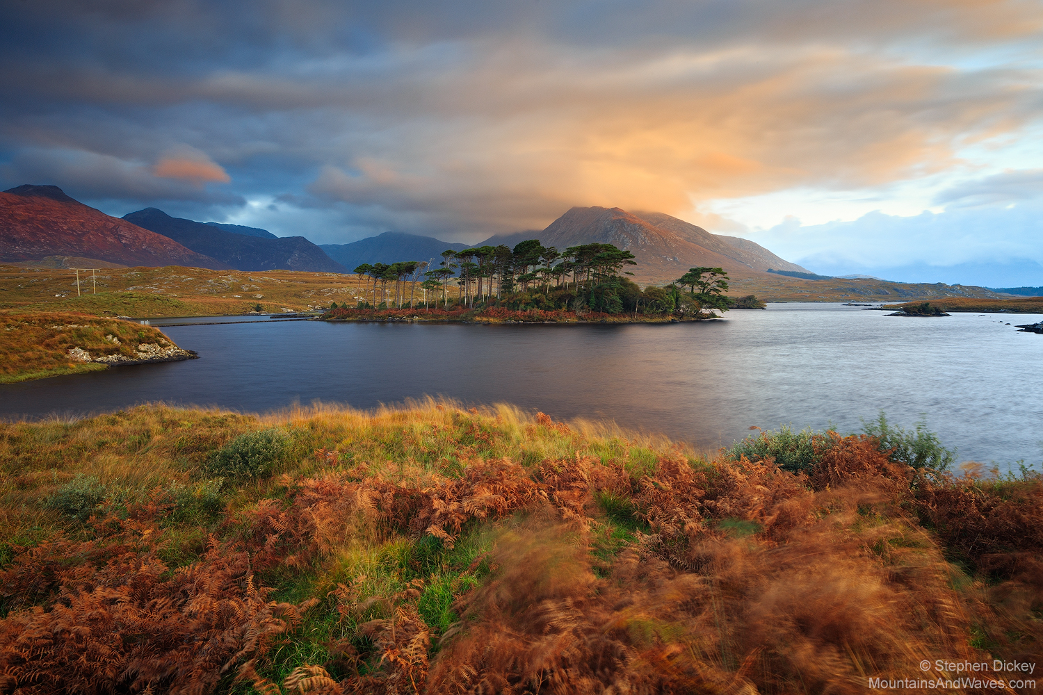 'The Twelve Pines,' Derryclare Lough, County Galway, Ireland