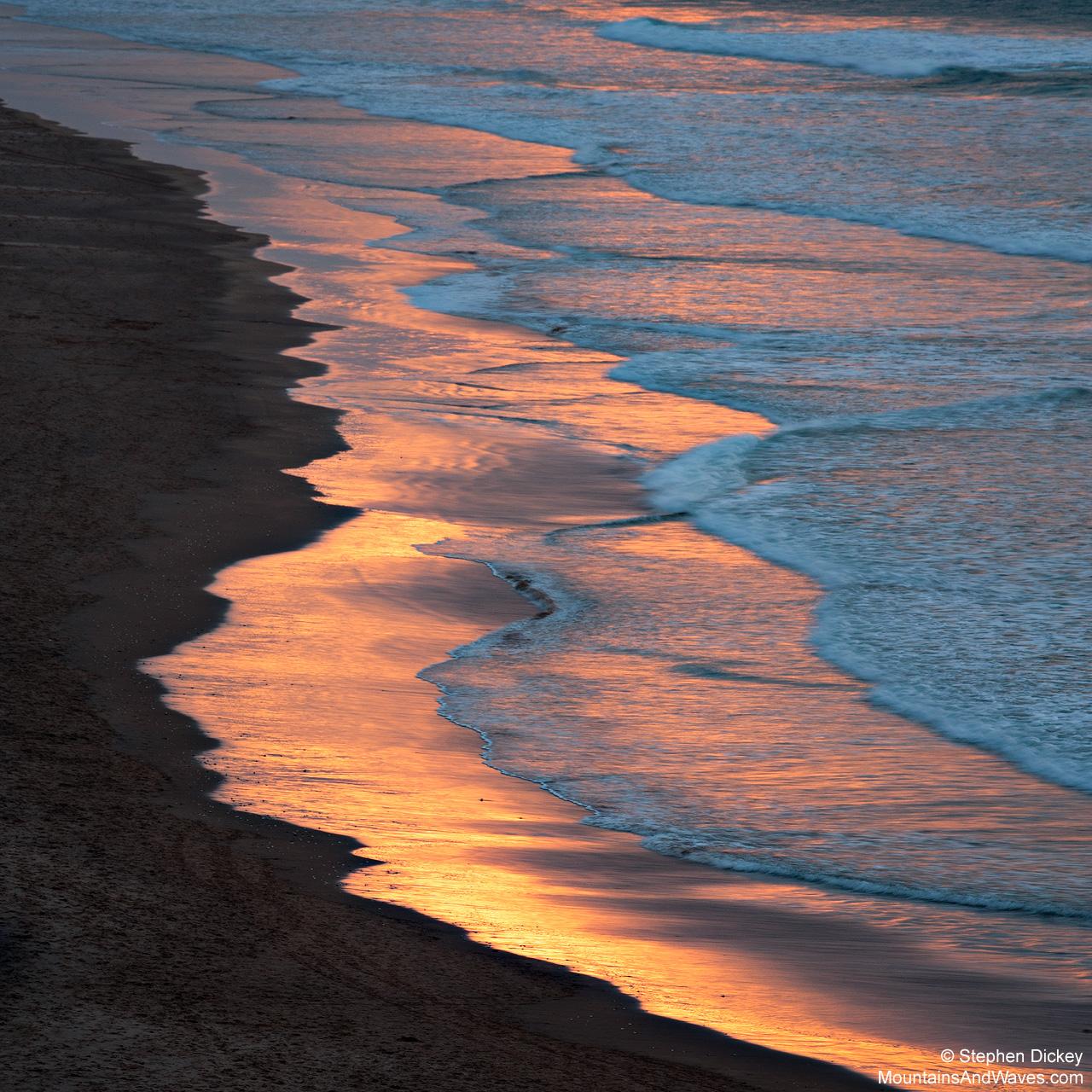 Whiterocks Beach Reflections, Portrush, Northern Ireland