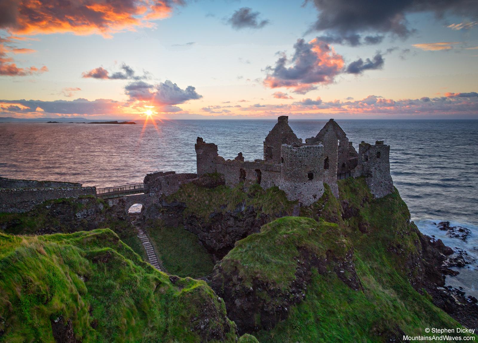 Dunluce Castle, County Antrim, Northern Ireland